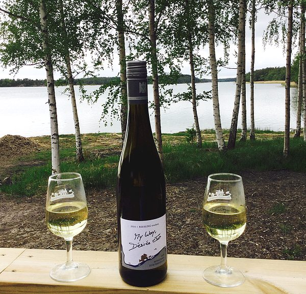 Sommer in Finnland mit Riesling